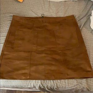 Old Navy Camel Colored Mini Skirt